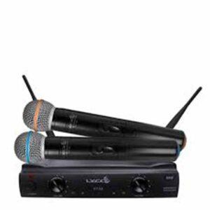 Aluguel de par de microfones sem fio