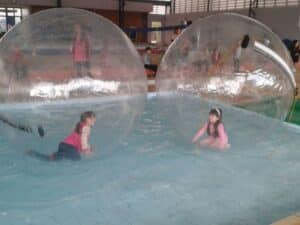 locação de waterball